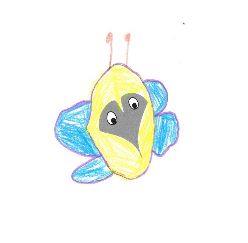Schmetterling – Belinay, 5 Jahre (Gewinner Mai 2018)