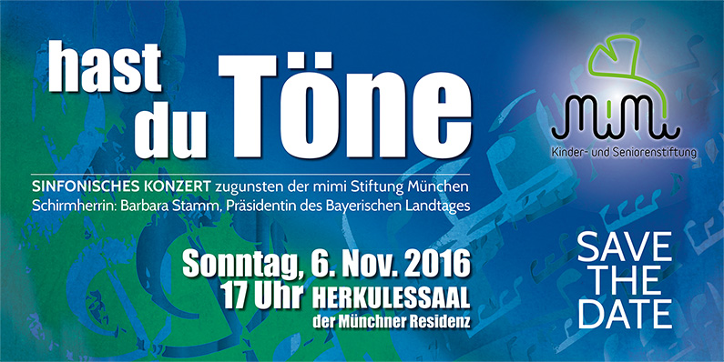 "Flyer Benefizkonzert ""hast du Töne"""