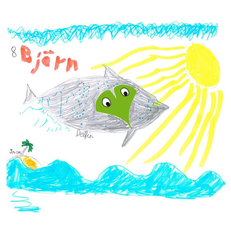 Delfin – Björn, 8 Jahre (Gewinner September 2017)