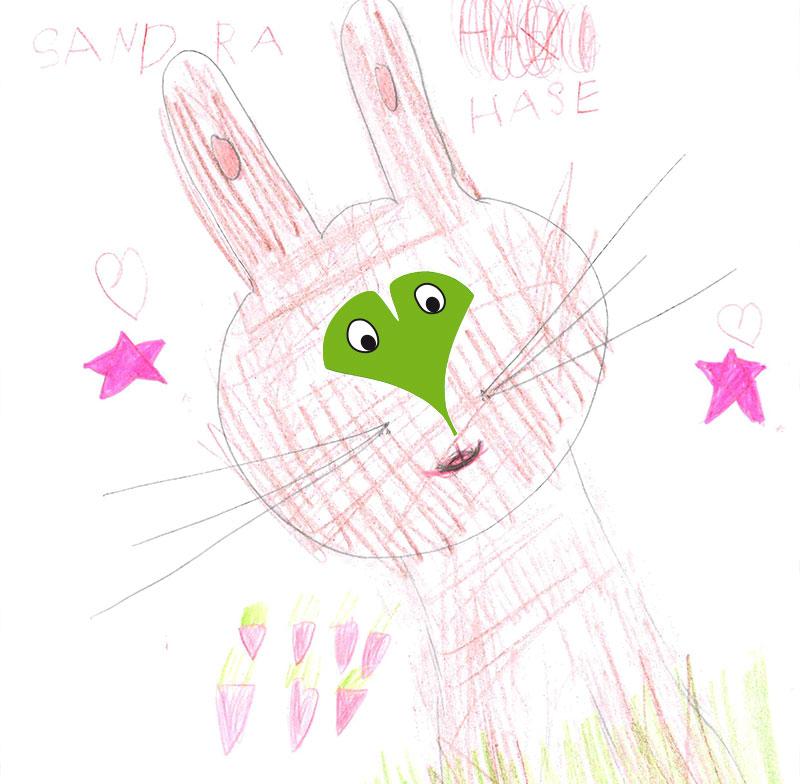 Hase – Emilia, 5 Jahre (Gewinner Juni 2017)