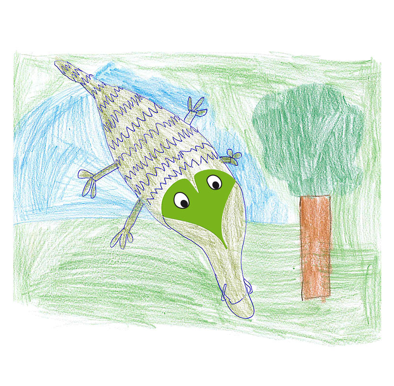 Krokodil – Yannick, 10 Jahre